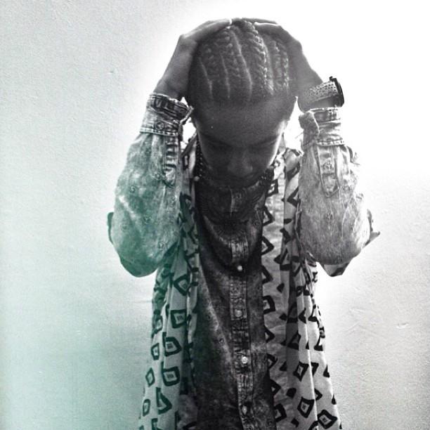 OMG, Princetyboo got 4 braids!!!!! :D <3 ;* XO :) ; { D