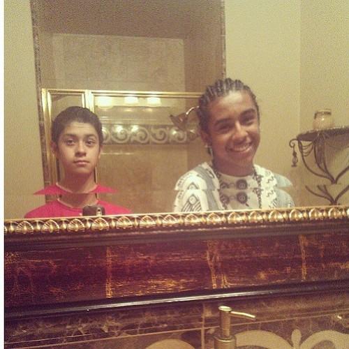 Princetyboo & his cousin!!!! XD :D XO ;D <3 ; { ) ;) :) =O