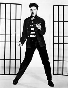 Promo Ad The The 1957 Film , Jailhouse Rock""
