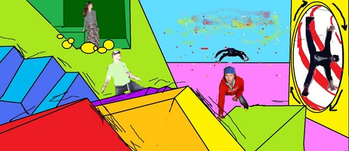 RHCP and I in a funhouse