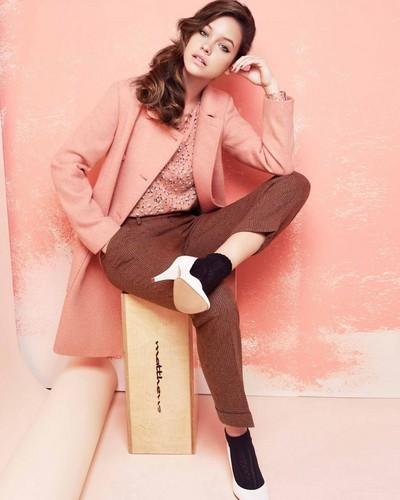 Retro Inspired Women's Wear in Boutique ByJaeger Winter 2012-2013 Lookbook