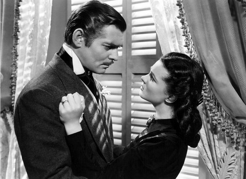Rhett Butler in cinta