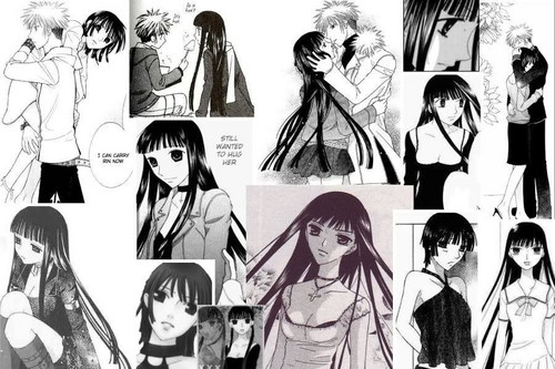 Fruits Basket Wallpaper Containing Anime Called Rin