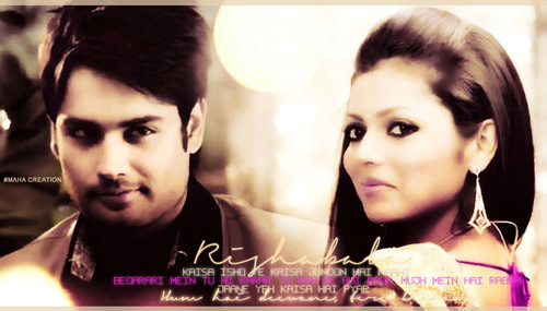 Madhubala- ek ishq ek junoon দেওয়ালপত্র containing a portrait called Rishab kundra & Madhubala