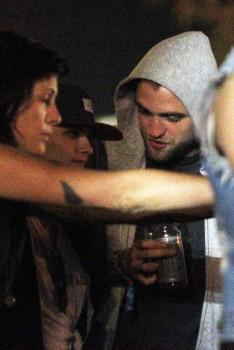 Rob and Kristen at Coachella (13/4/13)