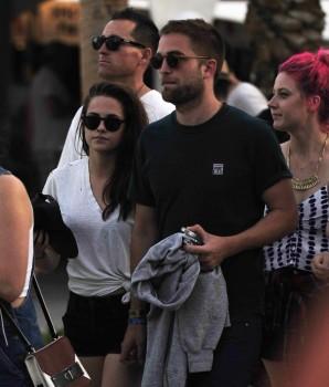 Rob and Kristen at Coachella (2013)