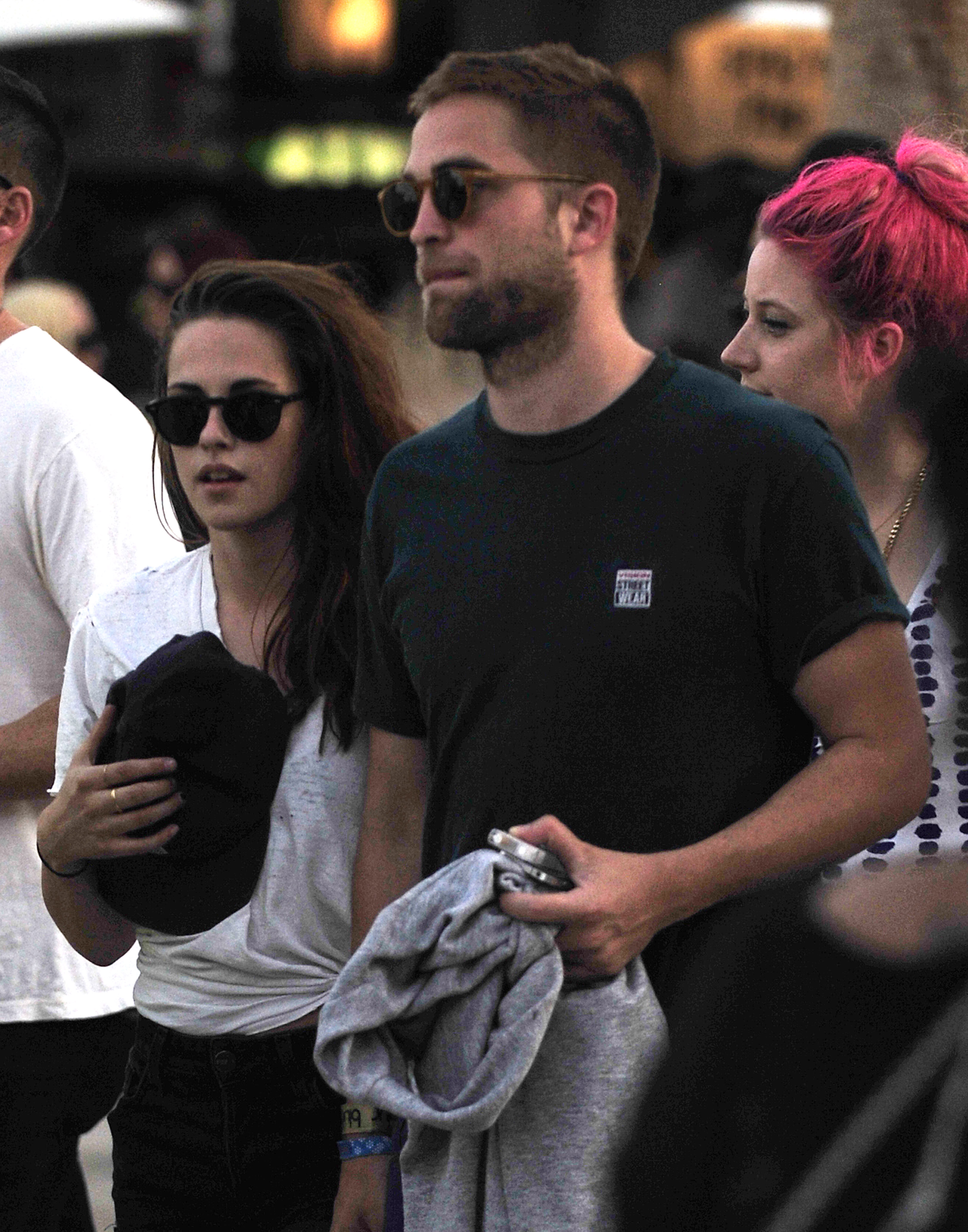 Robert Pattinson & Kristen Stewart Rob and Kristen at Coachella (2013)