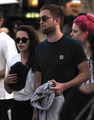 Rob and Kristen at Coachella (2013) - robert-pattinson-and-kristen-stewart photo