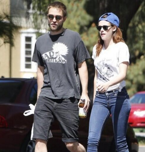 Rob and Kristen out with Bernie