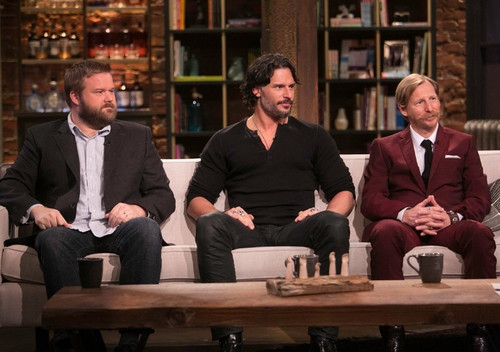 Robert Kirkman, Joe Manganiello and Lew Temple