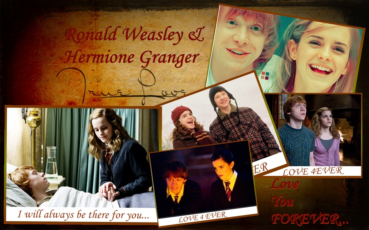 Harry Potter Love Triangle images Ron and Hermione HD ...
