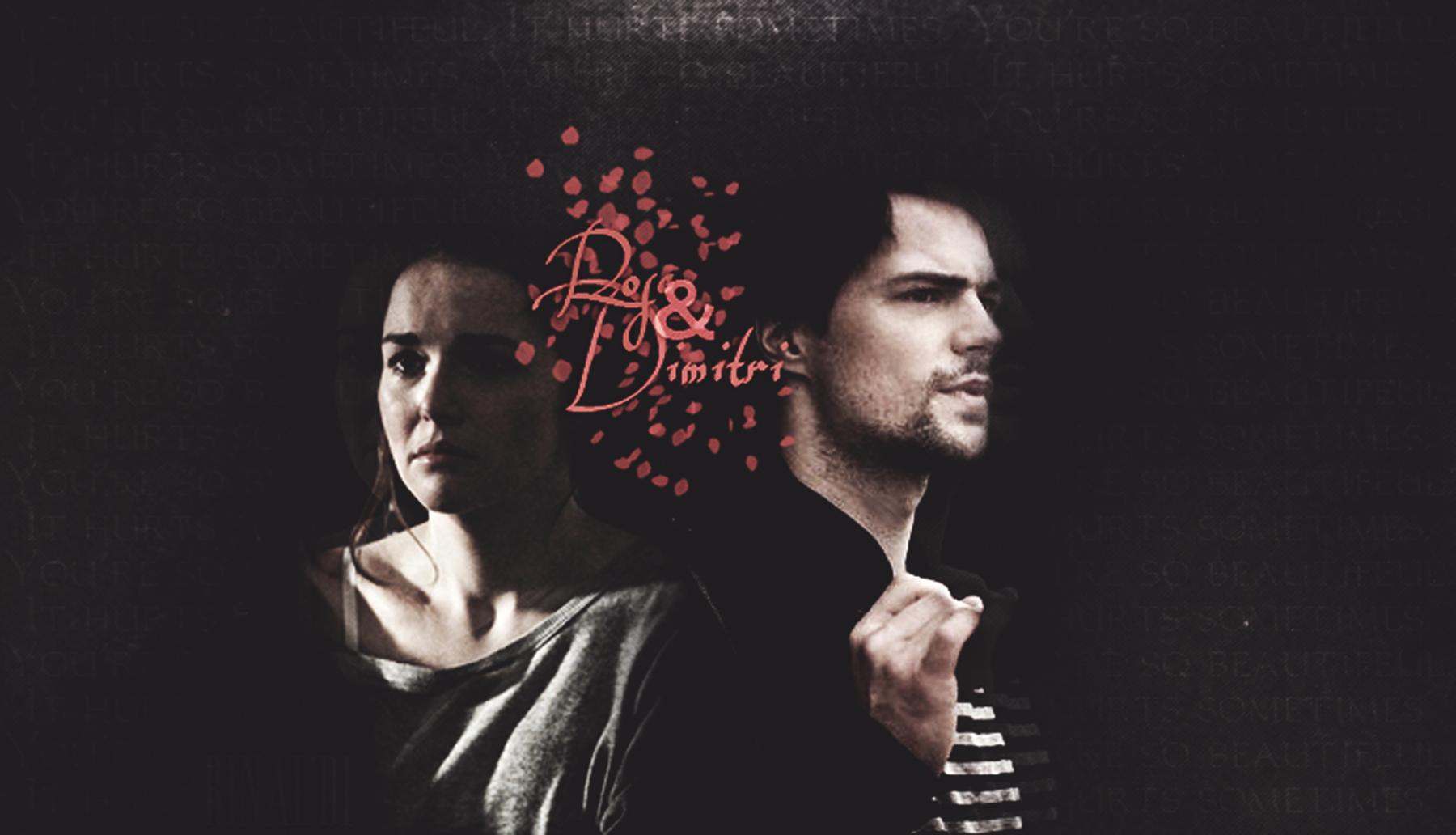 Rose & Dimitri karatasi la kupamba ukuta