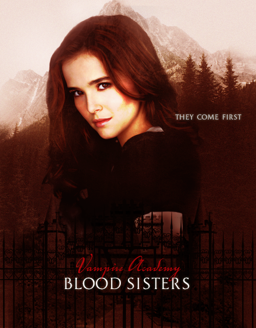 Rose Hathaway movie poster fanmade - The Vampire Academy ...
