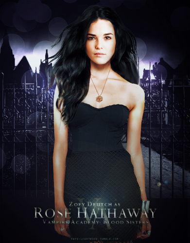 The Vampire Academy Blood Sisters fond d'écran containing a cocktail dress and a dîner dress titled Rose Hathaway