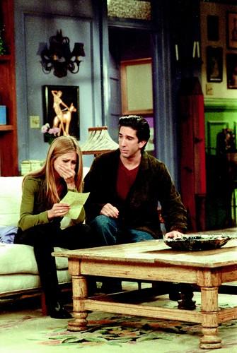 Rachel Green wallpaper called Ross & Rachel