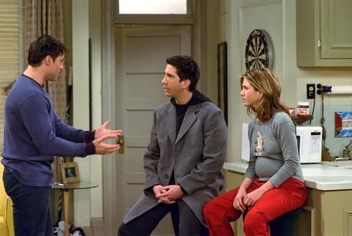Rachel Green वॉलपेपर titled Ross & Rachel