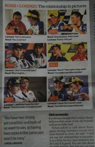 Rossi + Lorenzo :)
