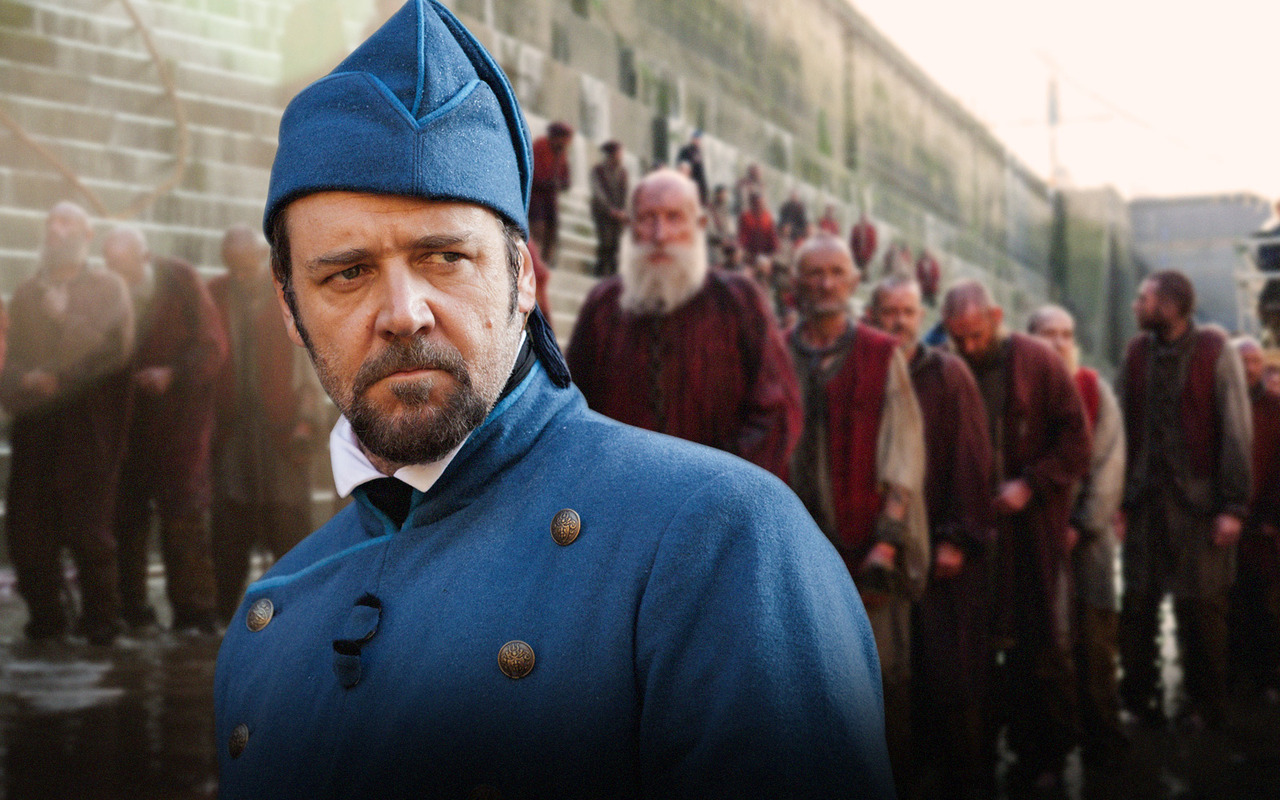 Les Miserables  2012 Movie  Russell Crowe movie still  amp  promo    Russell Crowe Movies