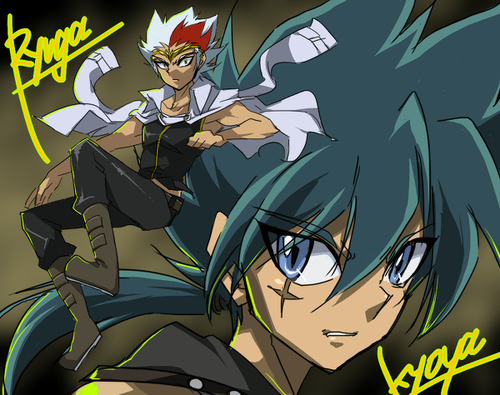 Ryuga and Kyoya