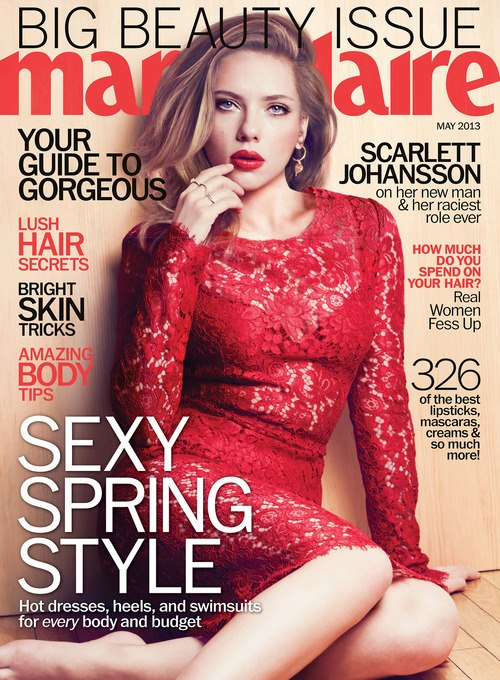 Scarlett - Marie Claire (May 2013)