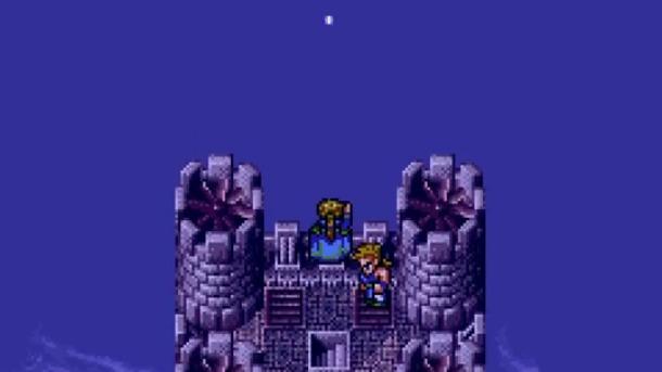 Final Fantasy Vi Images Screenshot Edgar Sabin Coin Toss Wallpaper
