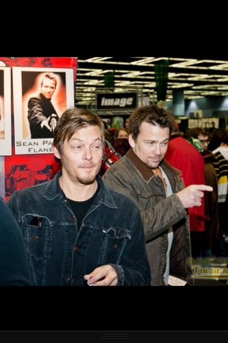 Sean and Norman