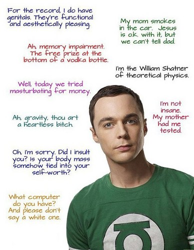 The Big Bang Theory wallpaper titled Sheldon