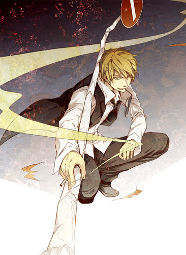 Heiwajima Shizuo wallpaper possibly with anime titled Shizu-chan <3