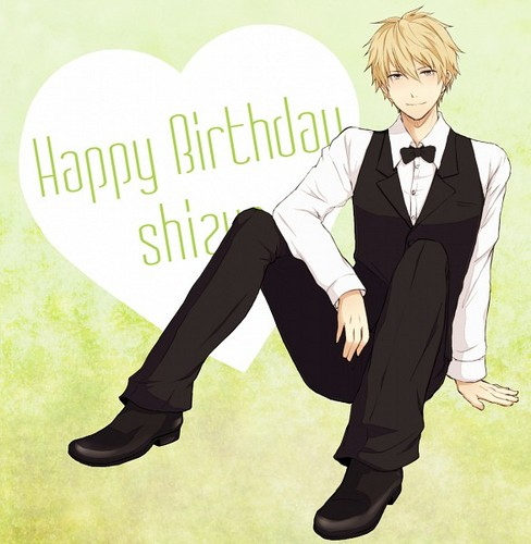 Heiwajima Shizuo वॉलपेपर containing a business suit, a well dressed person, and a suit called Shizu-chan <3