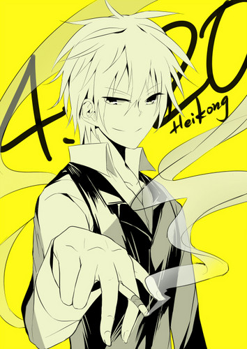 Heiwajima Shizuo wolpeyper with anime titled Shizu-chan <3