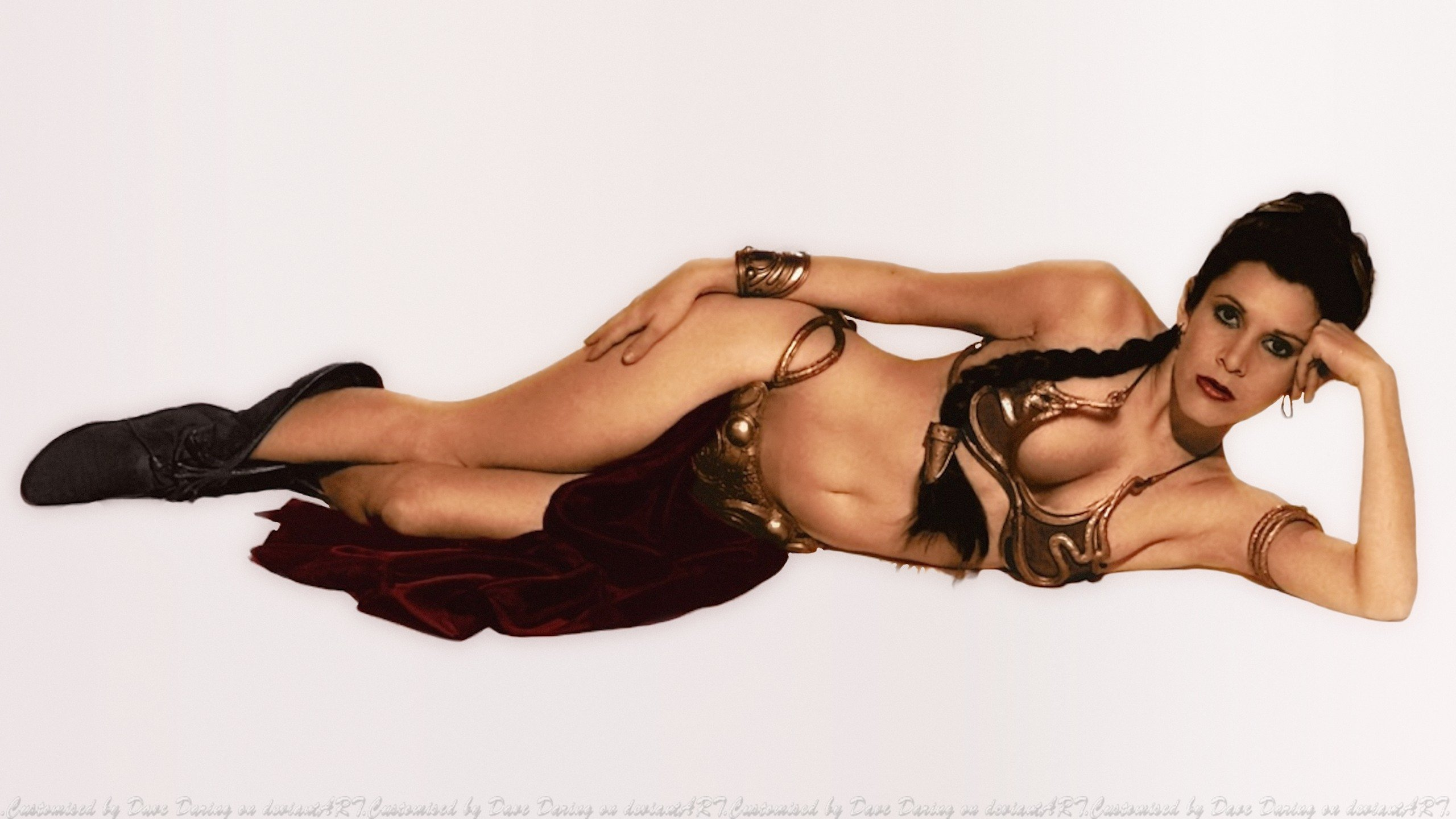 Princess leia sexy wallpapers erotic pics