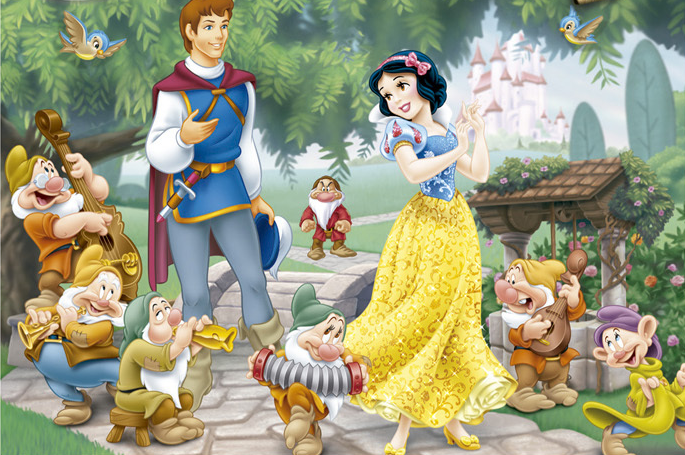 Snow White and The Seven Dwarfs - Story Telling