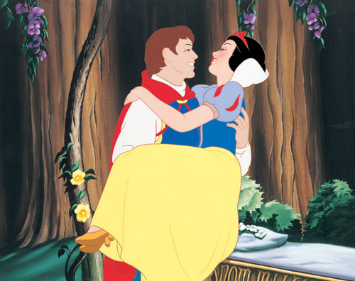 Snow White and the Seven Dwarfs wallpaper entitled Snow White and the Seven Dwarfs