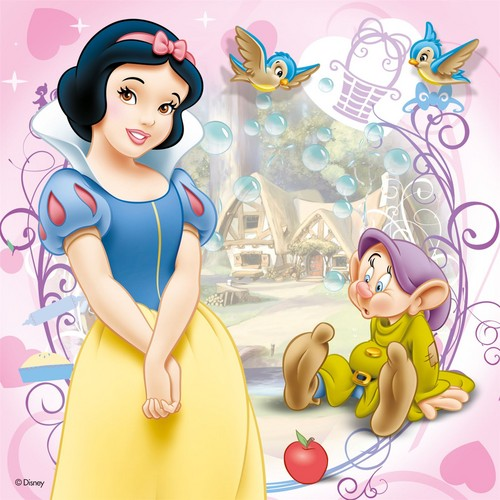 Snow White and the Seven Dwarfs wallpaper possibly with anime called Snow White