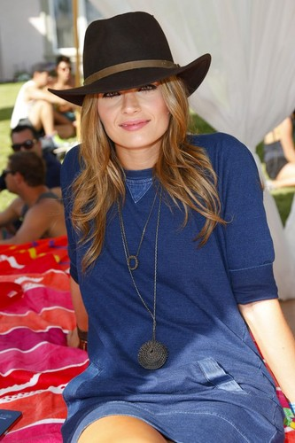 Stana Katic | LACOSTE LIVE 4th Annual Desert Pool Party