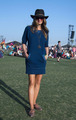 Stana Katic at FIJI Water At Lacoste LIVE Desert Pool 4th Annual Party - castle photo