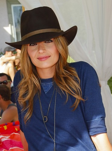 Stana Katic at FIJI Water At Lacoste LIVE Desert Pool 4th Annual Party