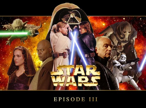 étoile, star Wars III- revenge of the sith