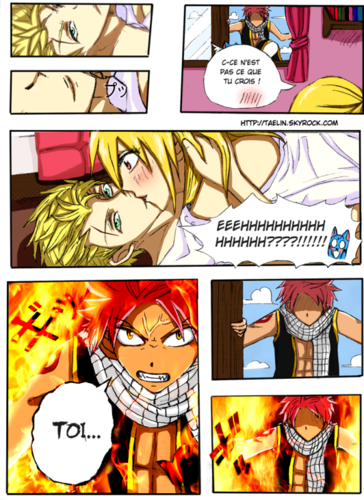 Sting Eucliffe and Lucy Heartfilia