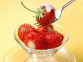 Strawberries  - food wallpaper