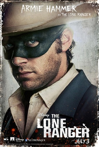 THE LONE RANGER Posters 2013