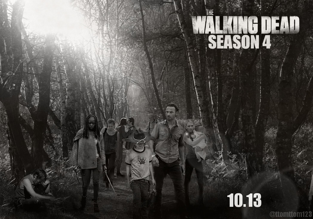 The Walking Dead THE WALKING DEAD SEASON 4 POSTER