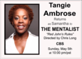 Tangie Ambrose - the-mentalist photo
