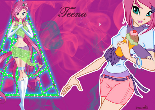 Tecna Wallpaper created by me