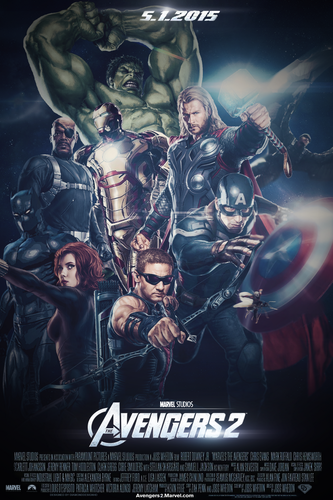 The Avengers 2 (fFan-Made) Teaser Poster