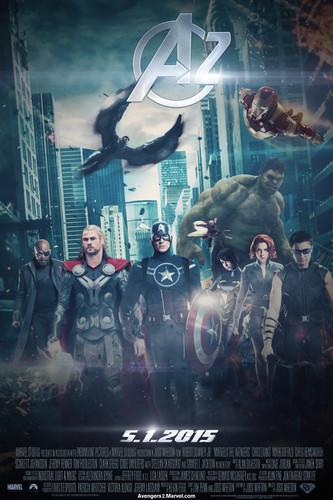 The Avengers 2 (fFan-Made) Teaser Poster