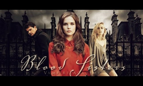 The Vampire Academy Blood Sisters Hintergrund containing a portrait entitled The Vampire Academy