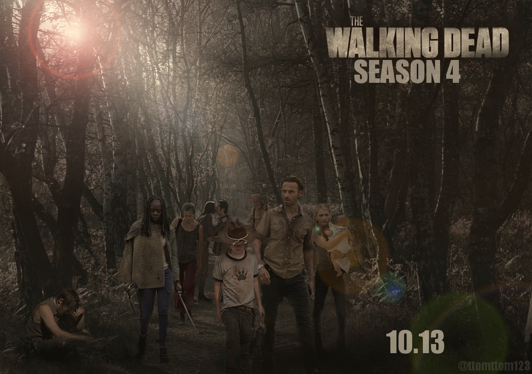 The Walking Dead The Walking Dead Season 4 Poster || 10.13