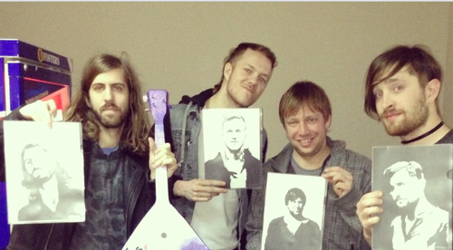 The band with a fans art