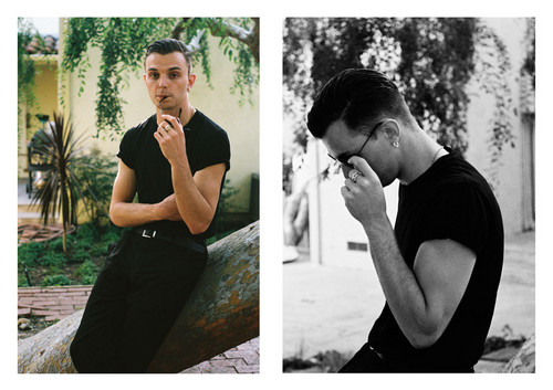 Theo Hutchcraft outtakes door Guy Lowndes